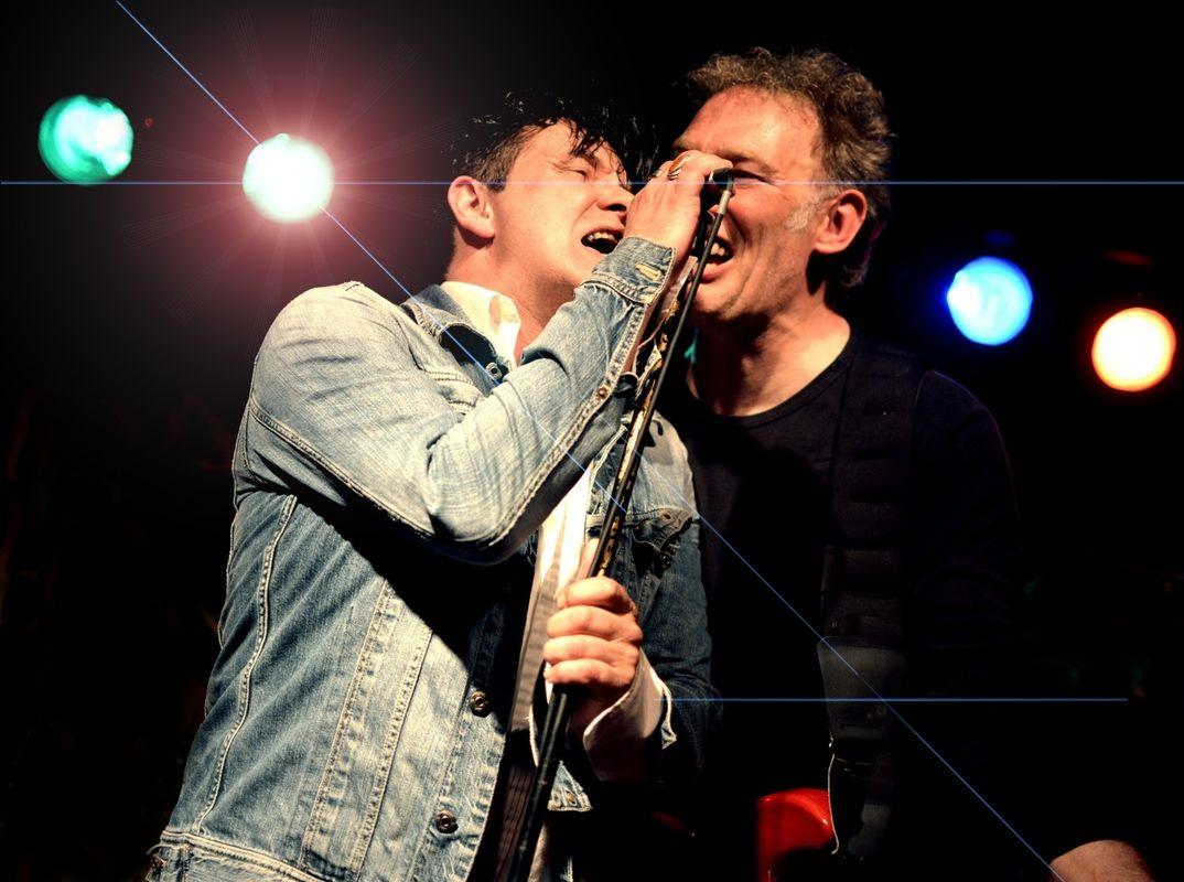 me & john